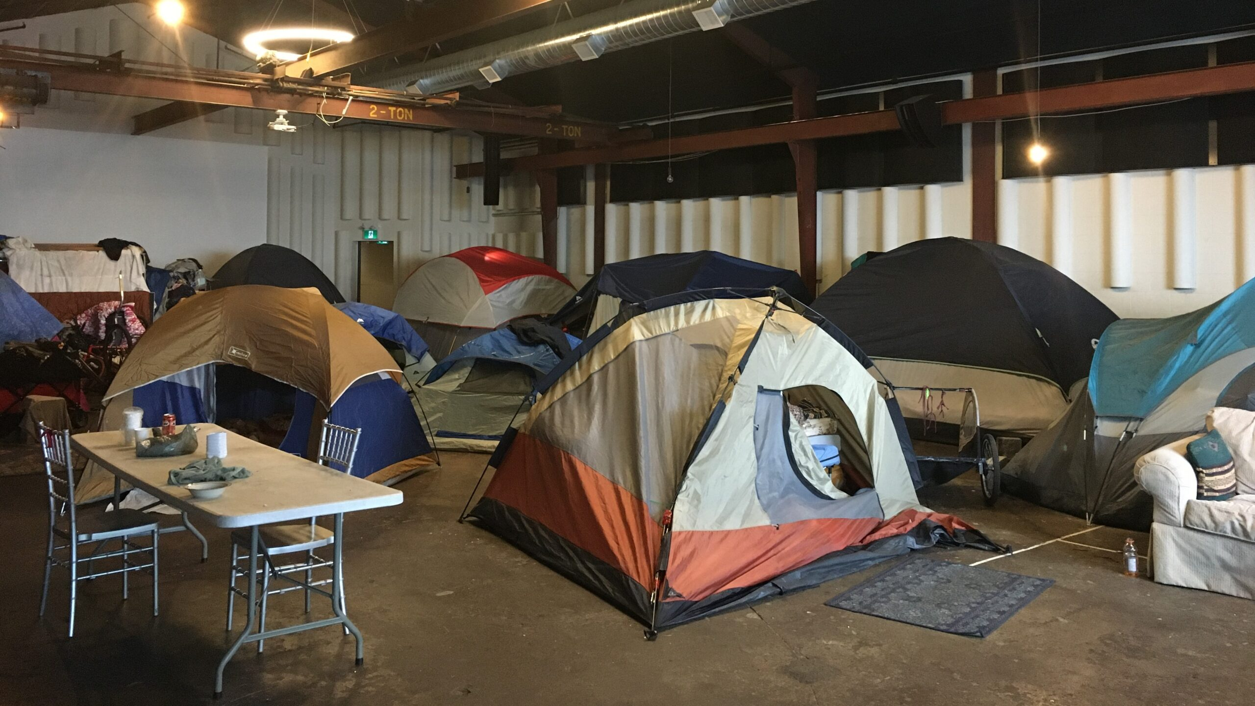 Photo from a A Better Tent City Waterloo Region provided by the Social Development Centre of Waterloo Region